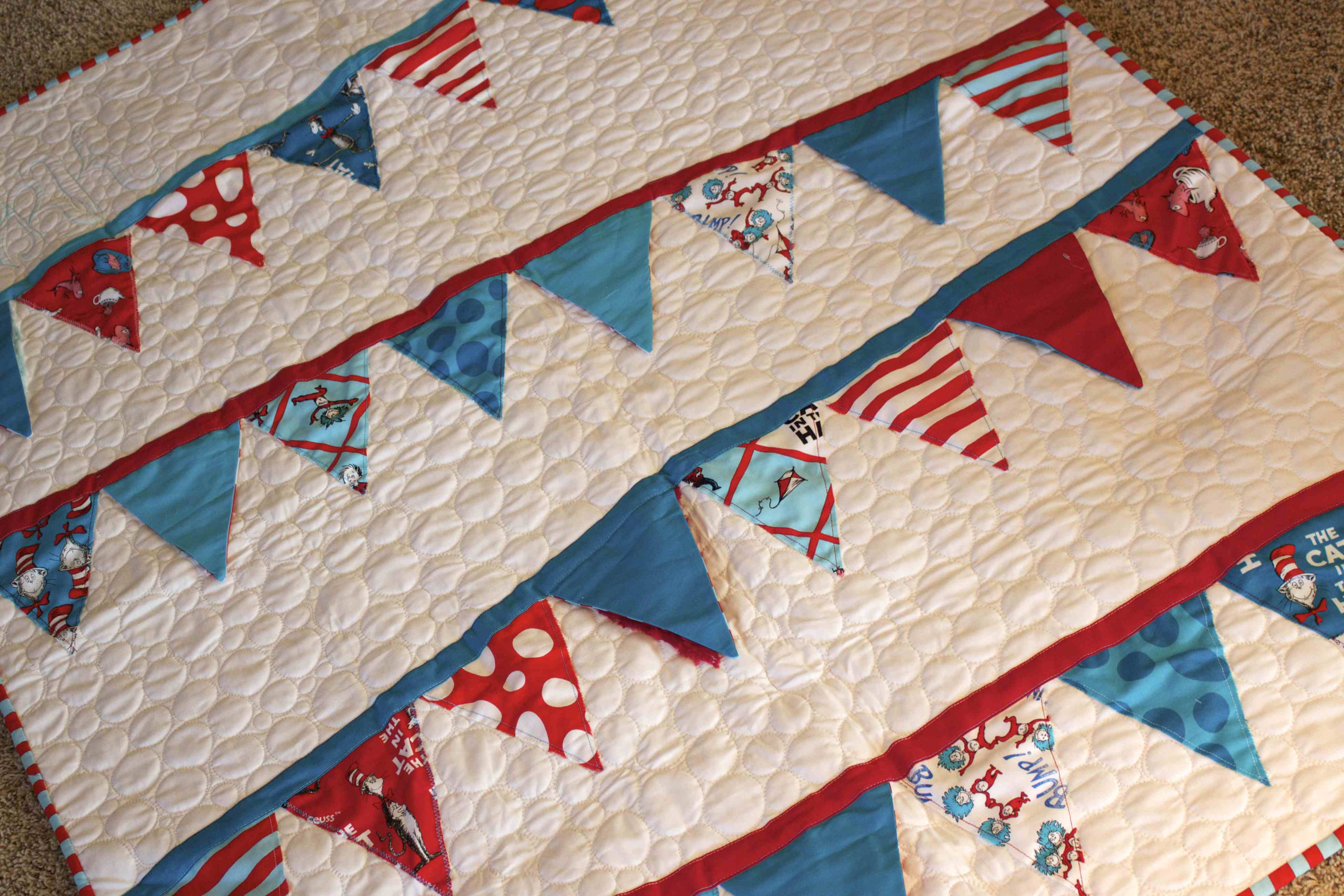 Quilting Is My Therapy A very Suess-ical Quilt - Quilting Is My ... : dr suess quilt - Adamdwight.com