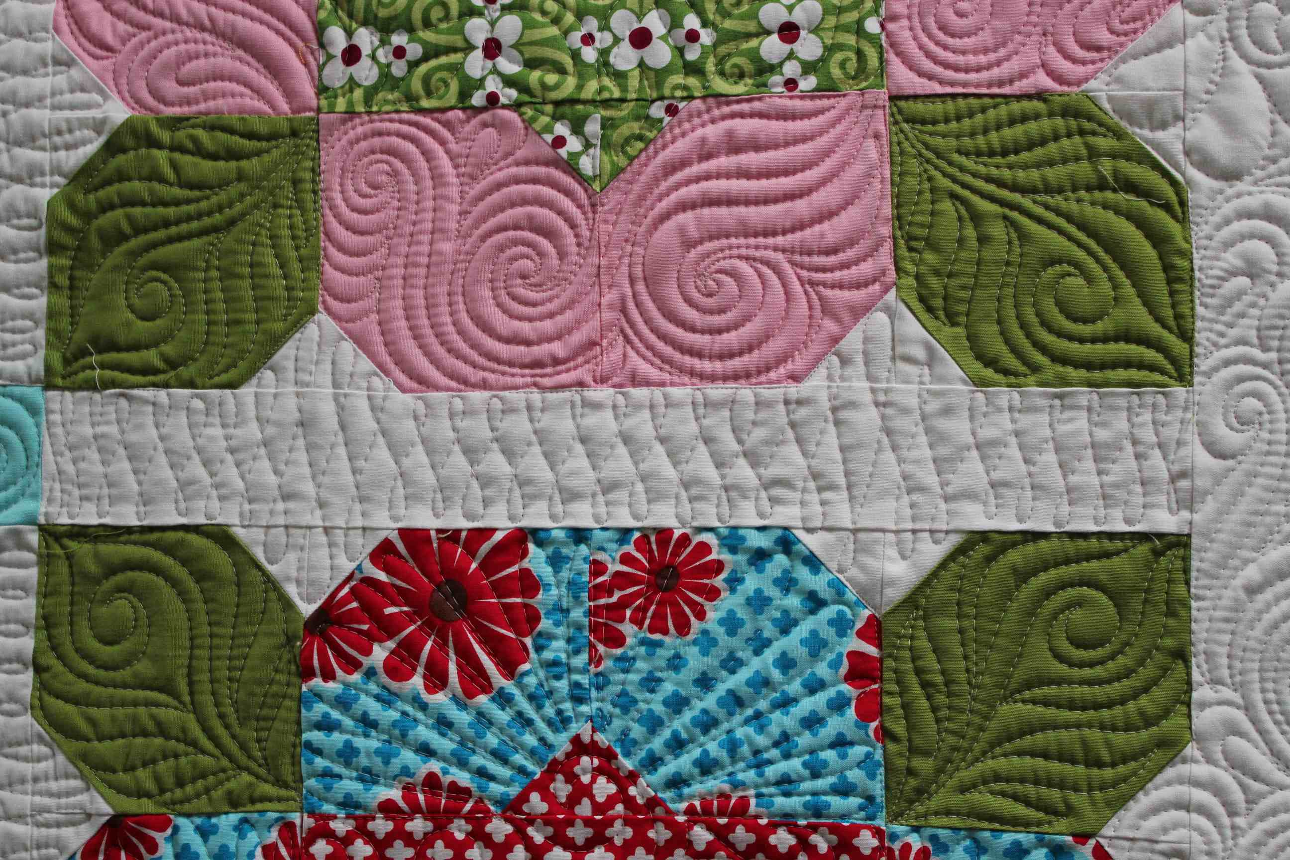 Quilting Is My Therapy Pop Posies Quilt