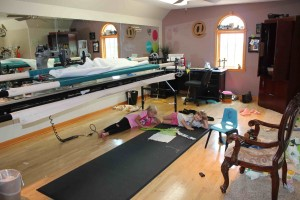 home quilting studio