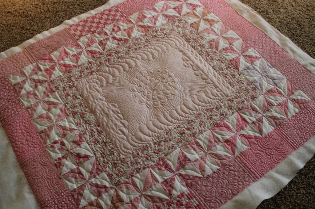 Baby Quilt on Fill It Up By Angela Walters