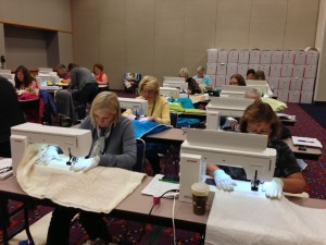 hands on quilting class