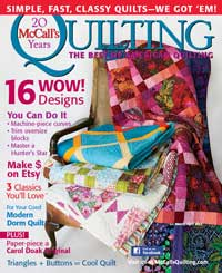 mccalls quilting magazine