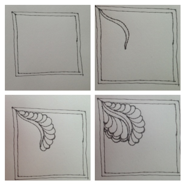 Drawing Lines For Quilting : Quilting is my therapy sketching feathers
