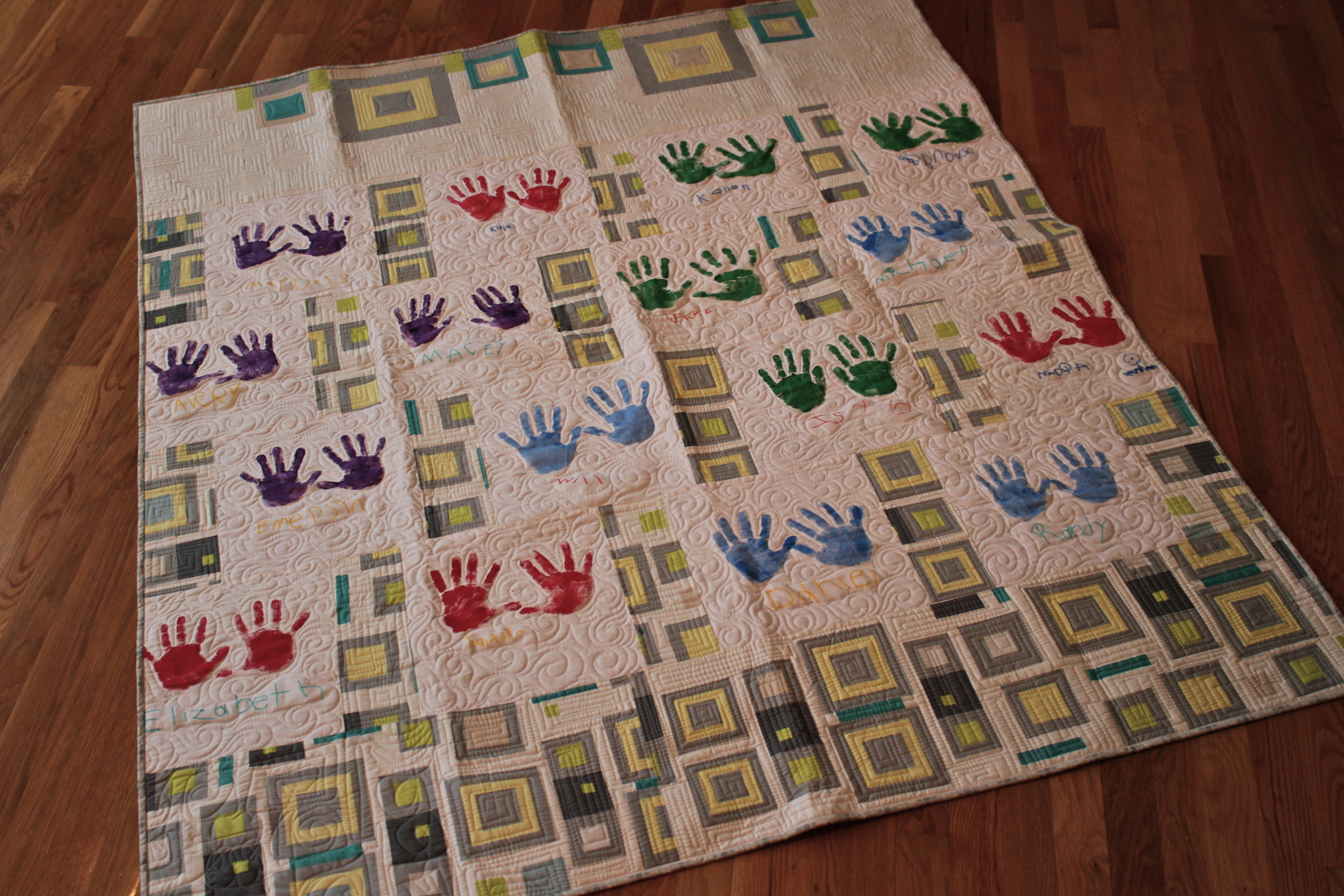 Quilt Patterns For Kindergarten : Quilting Is My Therapy Textures Preschool Quilt - Quilting Is My Therapy