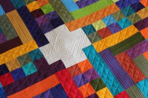 geometric quilting design