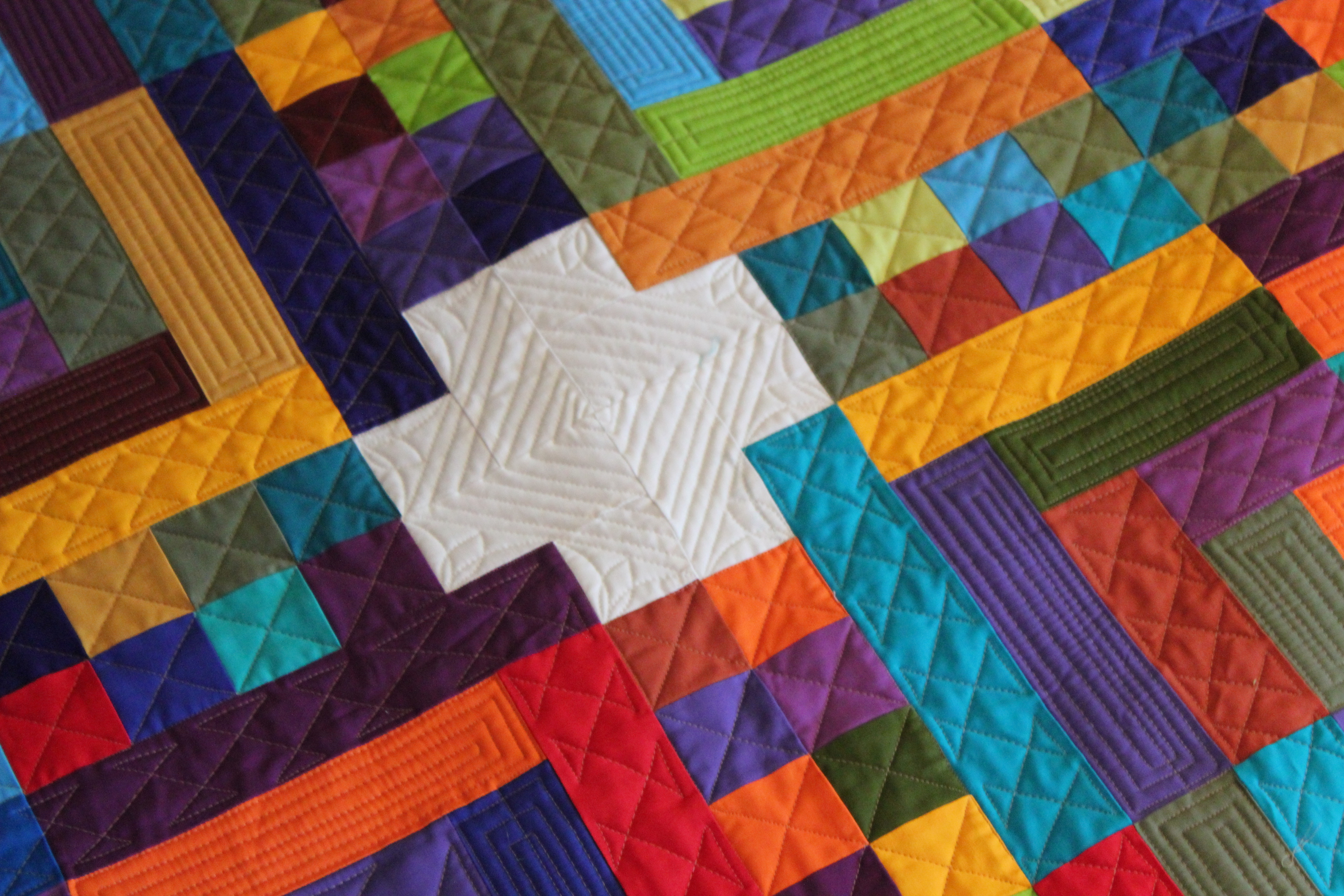 Quilting Is My Therapy Geometric Quilting Designs- Angela Walters- Quilting Is My Therapy