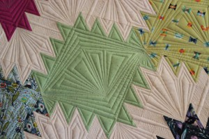 geometric machine quilting designs