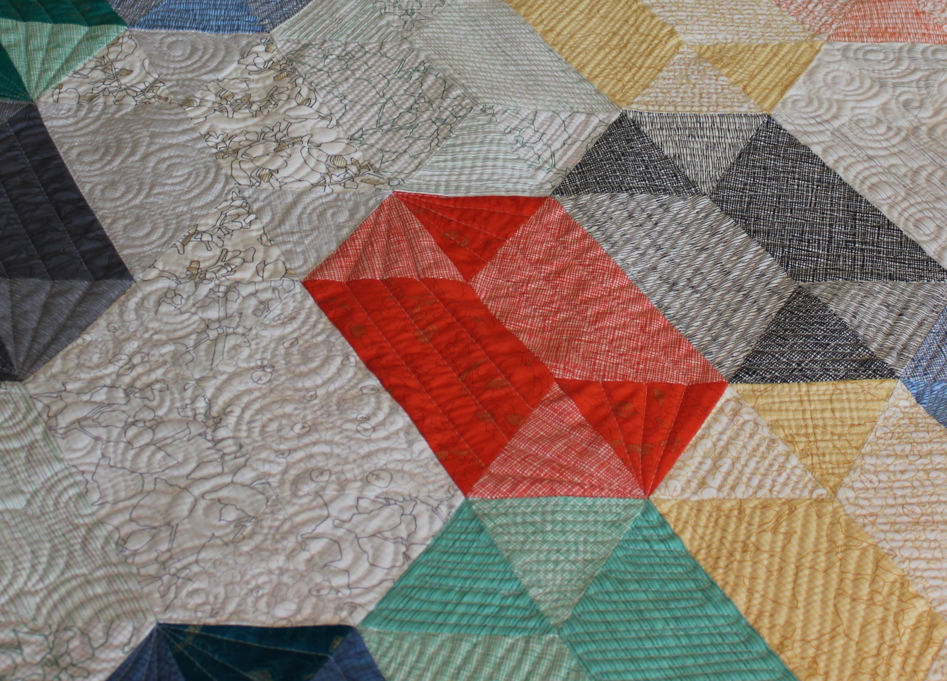 Same Quilt Pattern, Two Quilting Techniques Quiltingismytherapy s Blog Bloglovin