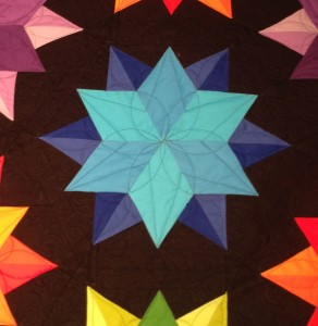 star quilting design