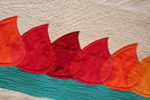 modern appliqué quilt pattern
