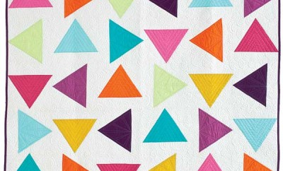 triangle toss quilt