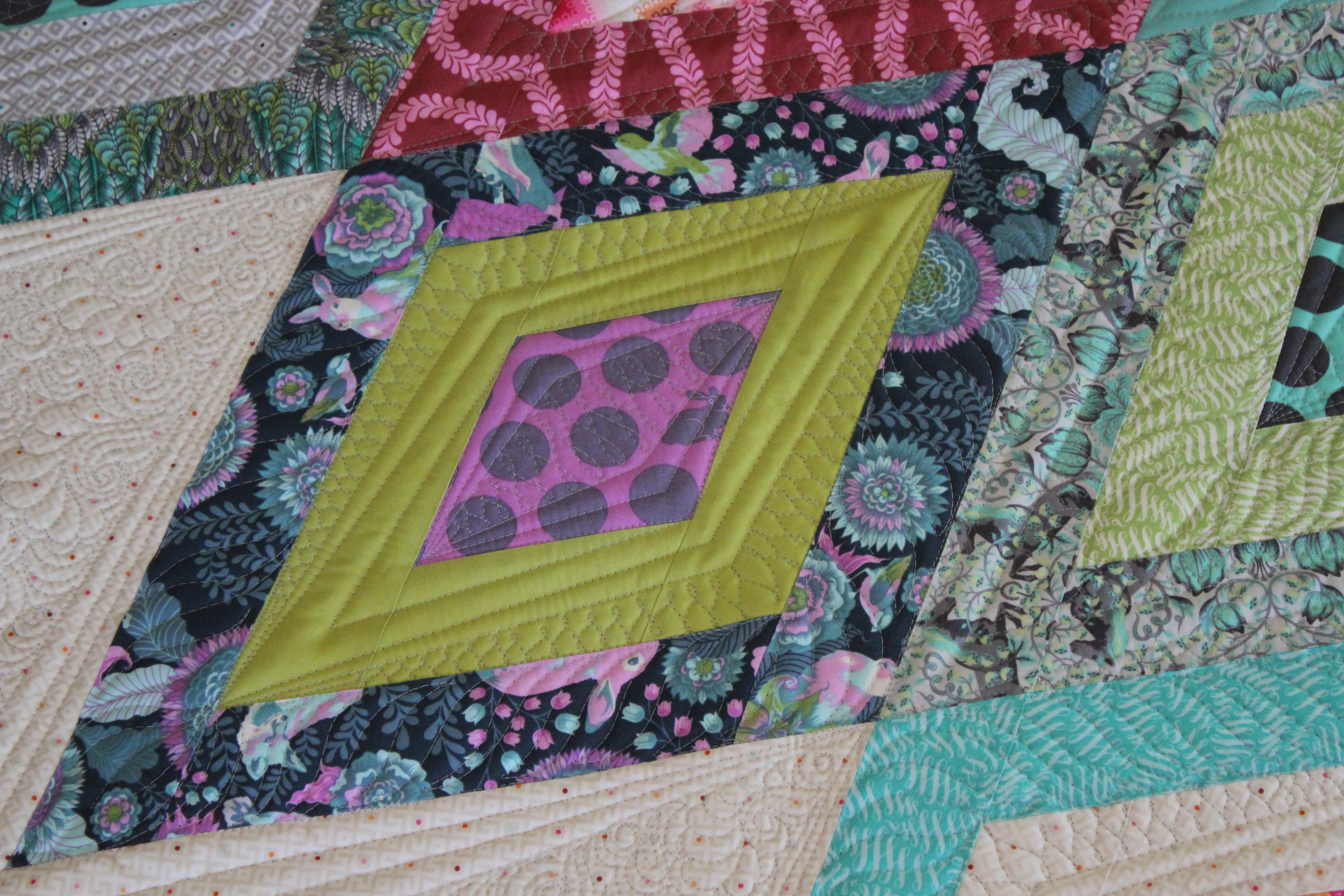 Quilting Is My Therapy A Mysterious Quilt - Quilting Is My Therapy