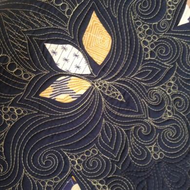 combining quilting designs