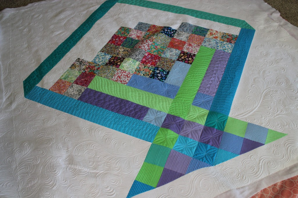 large scale piecing