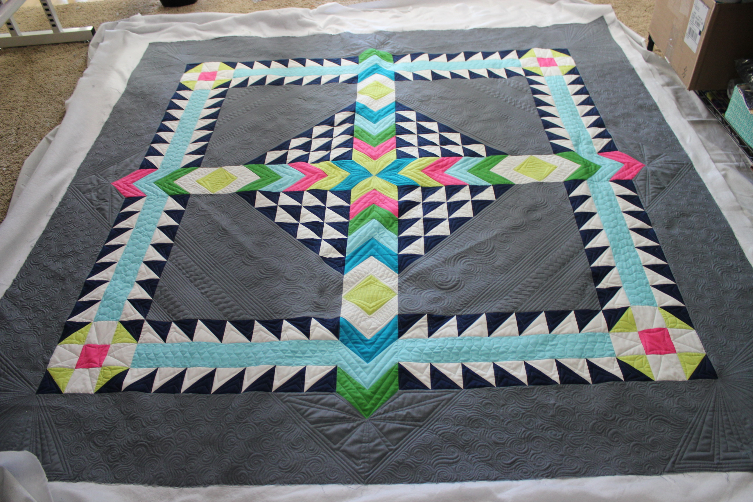 Quilting is my therapy techniques for quilting negative for Space quilt pattern