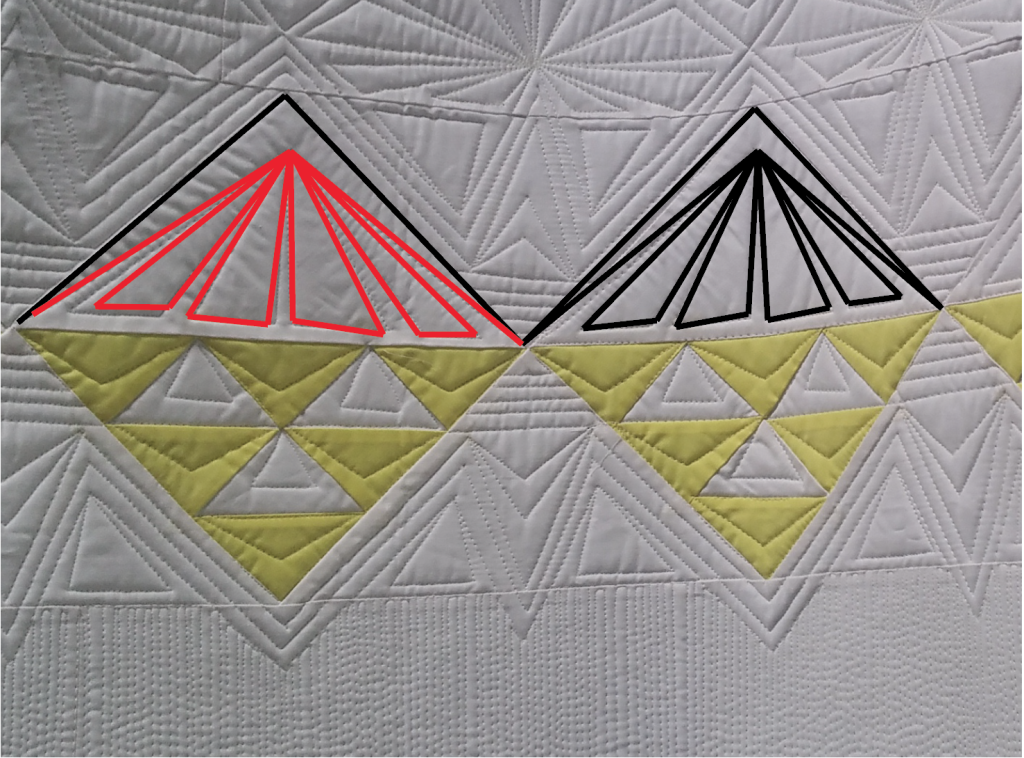 dot to dot machine quilting tutorial