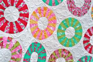 tula pink cartwheel quilt pattern machine quilting