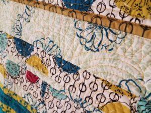 machine quilting strip quilts