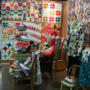 natalie barnes quilt market booth