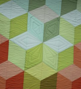 machine quilting star shapes