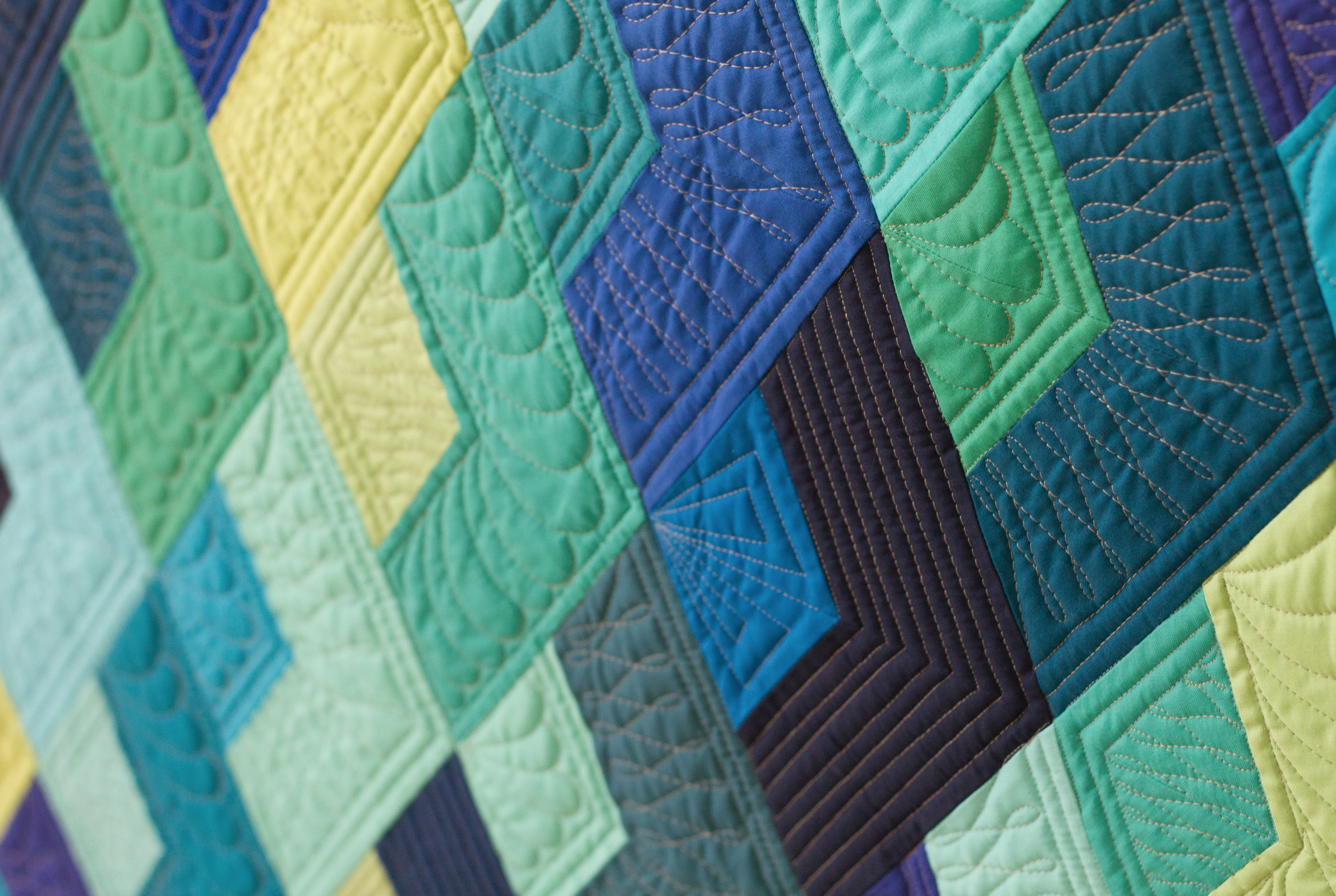 Quilting Is My Therapy Machine Quilting Diamond Blocks A