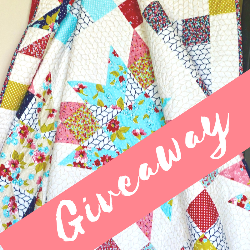 wallflower quilt giveaway