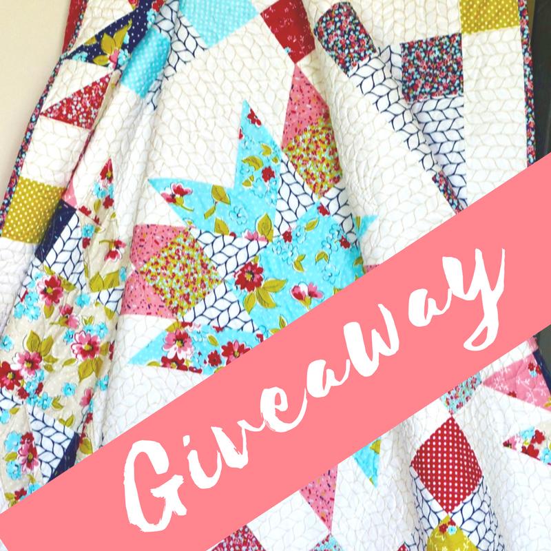 wallflower quilt giveaway