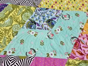 paisley feather motif