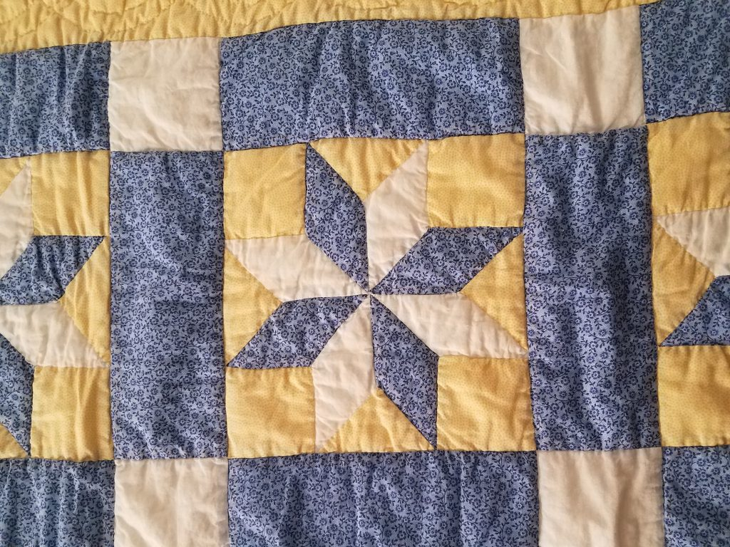lemoyne star quilt pattern hand quilting