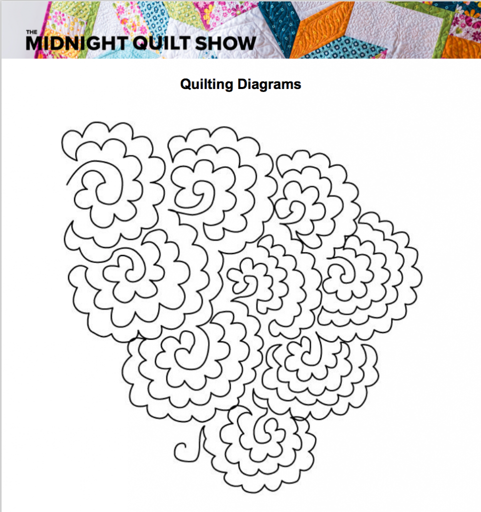 free quilt pattern with quilting diagrams
