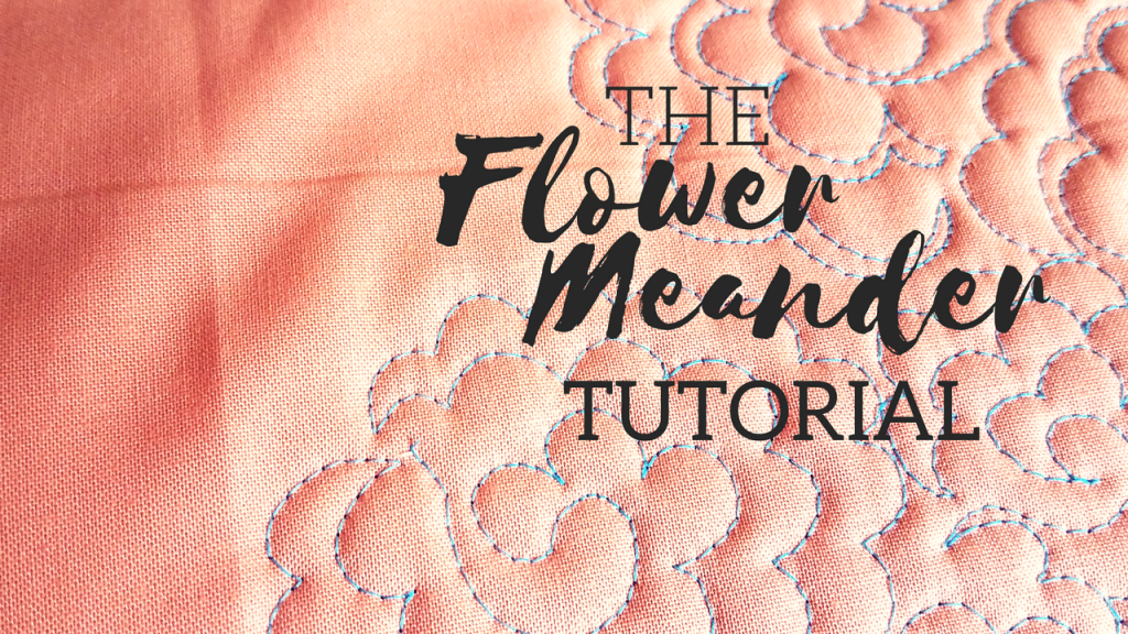 flower meander video tutorial