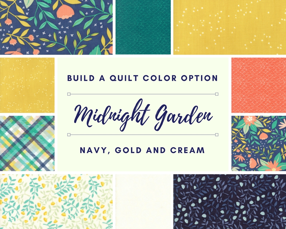 midnight garden fabric collection