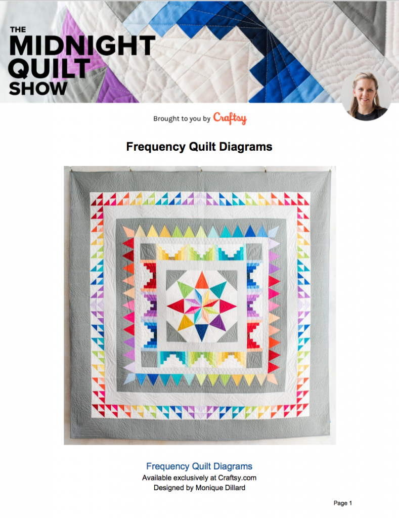 Free quilting diagrams