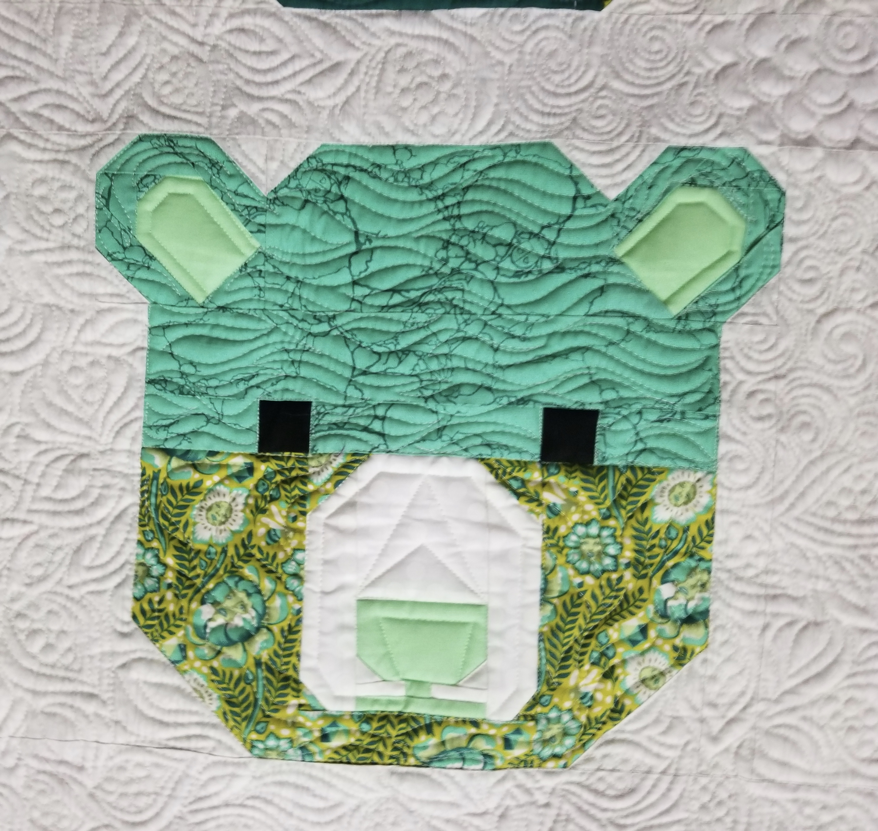 Quilting Is My Therapy Machine Quilting The Tula Pink Bjorn Bear