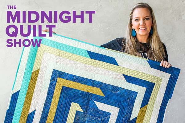 midnight quilt show free pattern