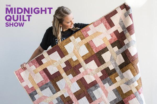 midnight quilt show puzzle quilt