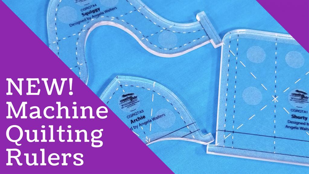 machine quilting rulers