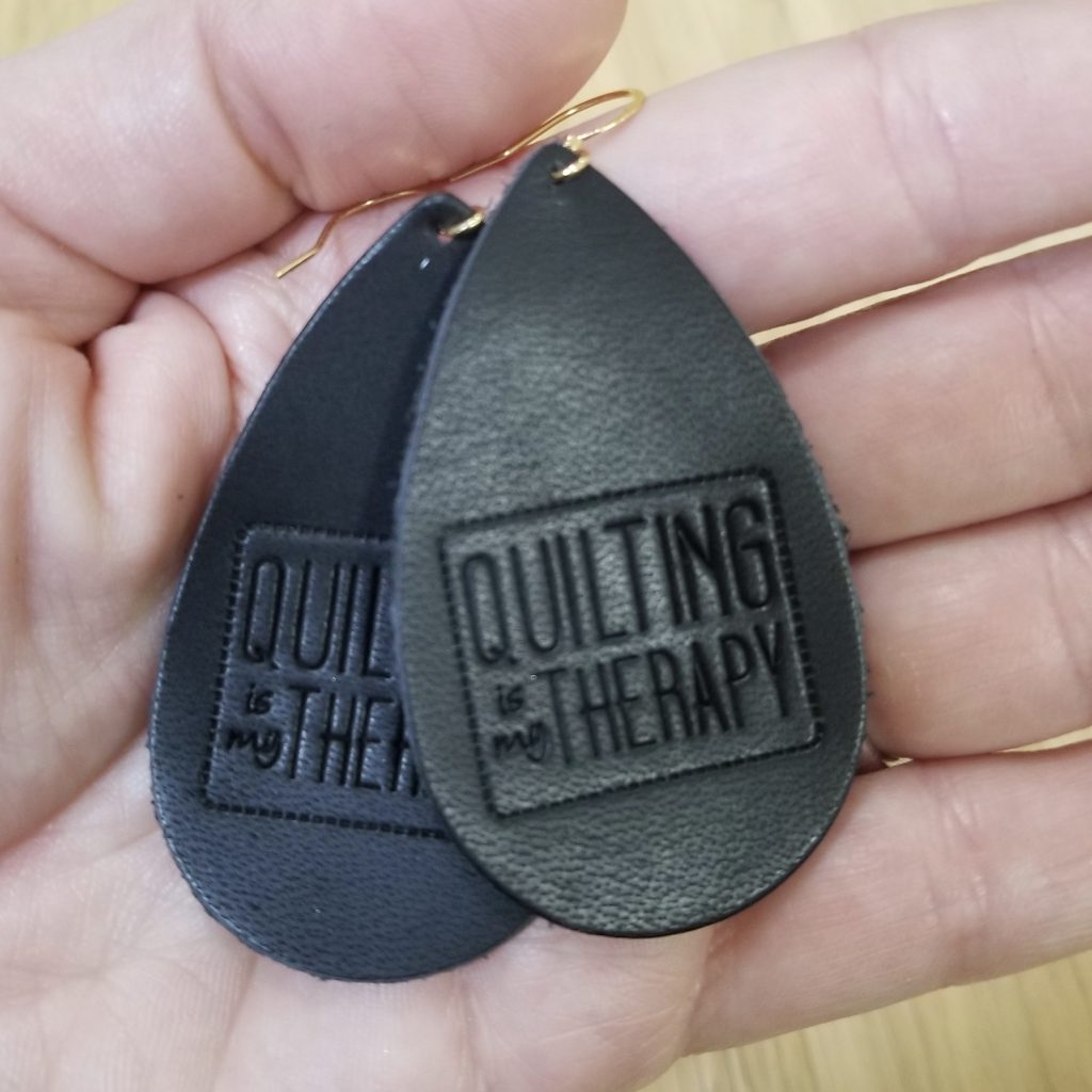 earrings for quilters