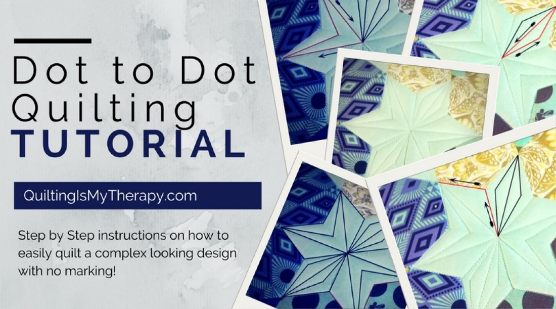 Dot to Dot Quilting Tutorial