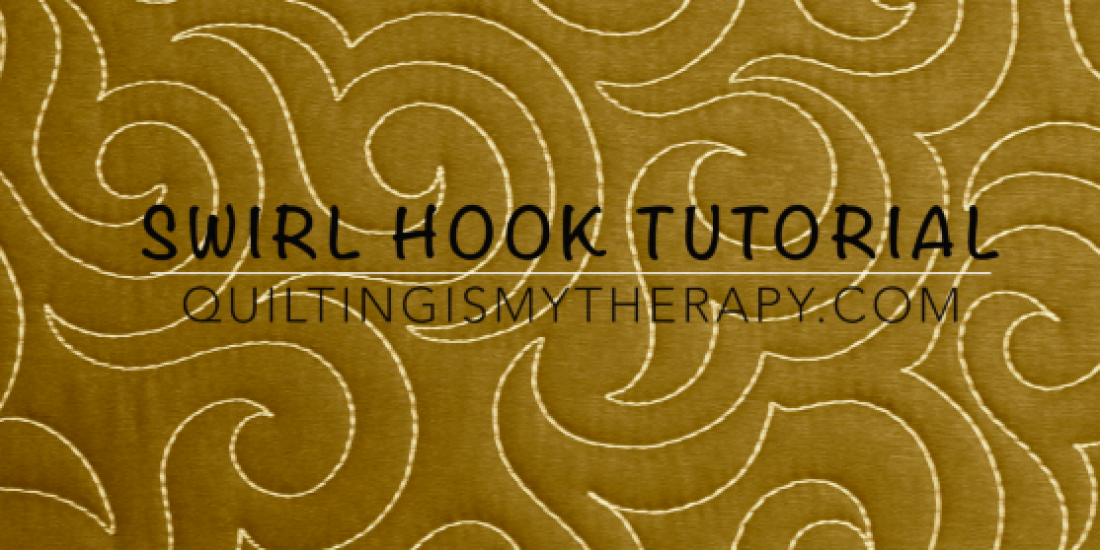 Swirl Hook Quilting Design