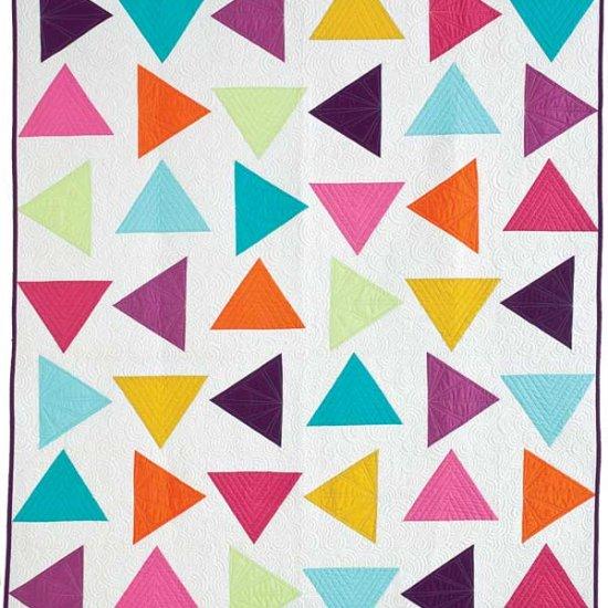 Corey Yoder Triangle Toss Quilt
