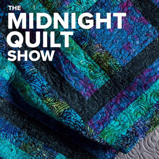 Modern Rail Fence – The Midnight Quilt Show