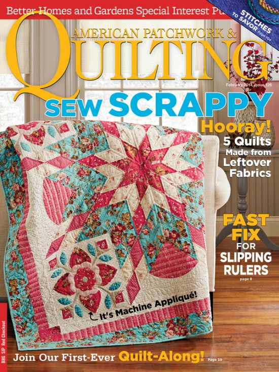 Round Robin Rebels- Featured in American Patchwork & Quilting